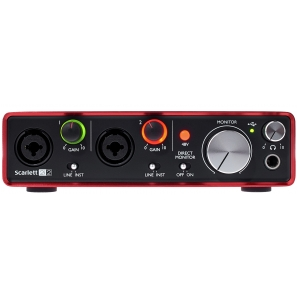 Аудиоинтерфейс Focusrite Scarlett 2i2 2nd Gen (New)