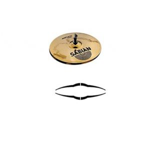 Тарелки типа Hi-Hat (пара) Sabian AAX Metal hats 14""