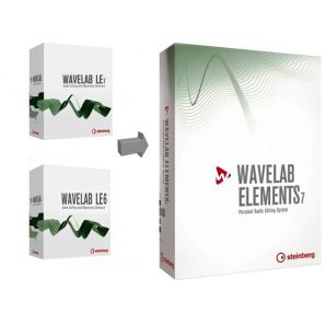 Программное обеспечение Steinberg WaveLab Elements 7 UG from WaveLab LE6/LE7