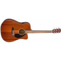 Электроакустическая гитара Fender CD-60SCE All Mahogany Natural