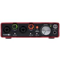 Аудиоинтерфейс Focusrite Scarlett 2i2 2nd Gen (New)