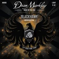 Струны для электрогитары Dean Markley 8000 BlackHawk Electric LT (.09-.42)