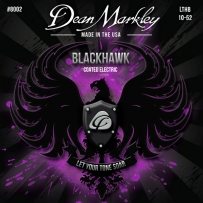 Струны для электрогитары Dean Markley 8002 BlackHawk Electric LTHB (.10-.52)