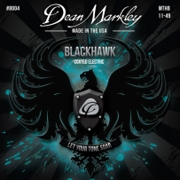 Струны для электрогитары Dean Markley 8004 BlackHawk Electric MTHB (.11-.49)