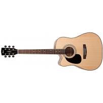Левосторонняя электроакустическая гитара Cort AD880CE LH (NAT)