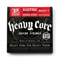 Струны для электрогитары Dunlop DHCN1060 Heavy Core Heavy 7 Set (7 струн .10-.60)