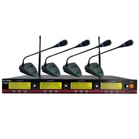 UHF радиосистема HL Audio K8004 Wireless Conference Microphone