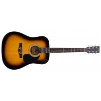 Акустическая гитара Maxtone WGC4011 (SB)