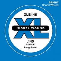 Струны для бас гитары D'Addario XLB145 XL Nickel Wound Single (.145)