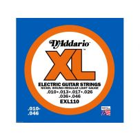 Струны для электрогитары D'Addario EXL110 XL Pro Steels Regular Light (6 струн .010-.046)