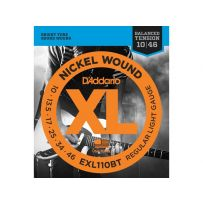 Струны для электрогитары D'Addario EXL110BT XL Balanced Tension Regular Light (6 струн .010-.046)