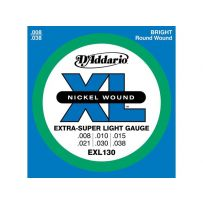 Струны для электрогитары D'Addario EXL130 XL Extra Super Light (6 струн .008-.038)