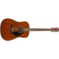 Акустическая гитара Fender CD-60S All Mahogany Natural