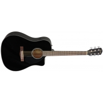 Электроакустическая гитара Fender CD-60SCE (BK)