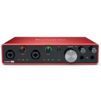 Аудиоинтерфейс Focusrite Scarlett 8i6 3rd Gen