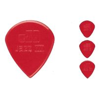 Набор медиаторов Dunlop Nylon Jazz Max Grip 3N-Red 6 шт.