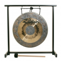 "Гонг Zildjian 12"" Traditional Gong and Tabletop Stand Set"